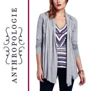 Bailey 44 |  'Arced Crest' Draped Jersey Cardigan
